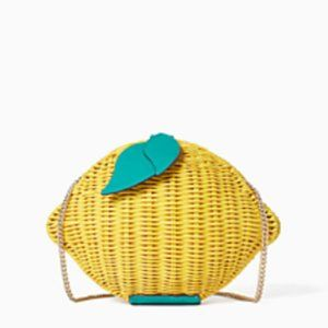 Authentic Kate Spade PicnicPerfect Lemon Crossbody
